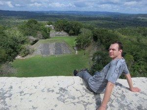 Mayan Ruins in Belize near Guatemala