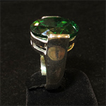 Emerald alchemy ring